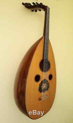 0Professional Syrian Oud High Quality (IRAQI STYLE) Made by Mansur Haidar