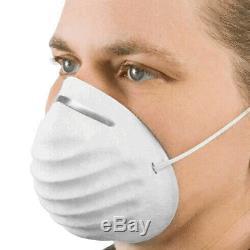 12 X Flu Virus Medical Face Mask Pro Quality Metal Adjustable Strip Surgical