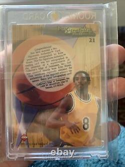 1998 Collector's Edge Impulse Pro #21 KOBE BRYANT AUTO CARD autograph Lakers