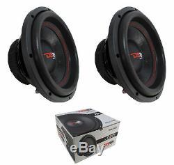 2 x 10 Subwoofer 880W 4 Ohm Single Voice Coil Bass Pro Car Audio DS18 SLC-10S
