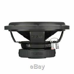 2 x 8 Subwoofer 800W 4 Ohm Single Voice Coil Bass Pro Car Audio DS18 SLC-8S