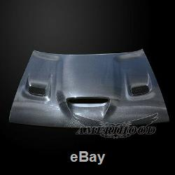 2008-2020 Dodge Challenger Hellcat Carbon Fiber Hood With Heat Extractor Vents