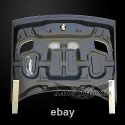 2008-2020 Dodge Challenger Hellcat Carbon Fiber Hood With Heat Extractor Vents