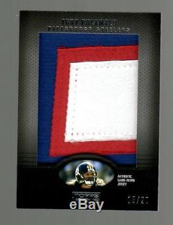 2009 Topps Unique Troy Polamalu Jumbo Patch 3 Colored Prime Pro Bowl Card 15/20