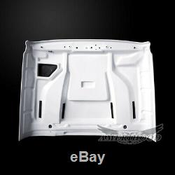 2018-2020 Jeep Wrangler Jl Stm Style Functional Heat Extractor Ram Air Hood
