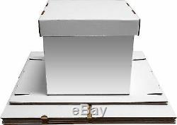 25 Max Pro 33 1/3 LP Album 12 Record Storage Boxes Super Quality Record Boxes