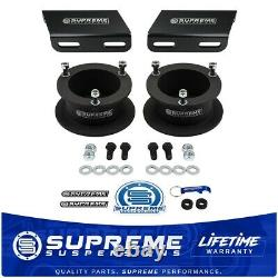3 Front Leveling Lift Kit for 1994-2001 Ram 1500 4x4 + Sway Bar Drop Brackets