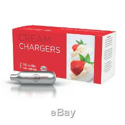 400 Whip Cream Chargers Whipped EU 8g N Pro EURO Best Quality ICO 8 boxes of 50
