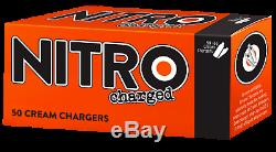 400 Whip Whipped Cream Chargers N 8g 8 gram Pro Quality 8 boxes of 50 Nitro