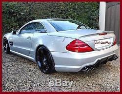 AMG Type Trunk Spoiler Wing 03-11 M-Benz R230 2Dr SL500 SL600 SL63 Select Color
