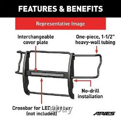 ARIES P9052 Pro Series Black Steel Grille Guard for Select Nissan Titan XD