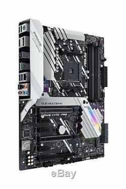 ASUS Prime X470-Pro AMD Ryzen 2 AM4 DDR4 DP HDMI M. 2 USB 3.1 ATX Motherboard