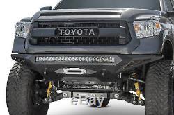 Addictive Desert Designs Stealth Fighter Winch Bumper For 14-20 Toyota Tundra