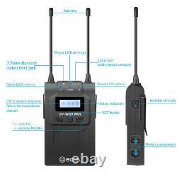 BOYA BY-WM8 Pro-K2 UHF Dual-Channel Wireless Microphone System Broadcast-Quality