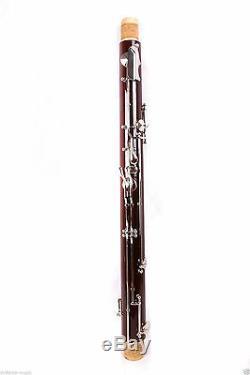 Bassoon C tone 26 keys great Maple+Fine quality Free Pull rod Case