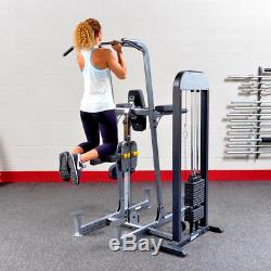 Body-Solid Pro-Select Weight Assisted Chin Dip Machine 210lb Stack