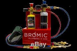 Bromic Oxy Set Mobile Brazing & Welding System, Oxygen, Mapp Pro Trade Quality 1