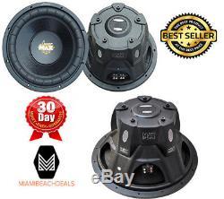 Car Subwoofer Sub Max Pro Amp 15 Inch Dual 4 Ohm 2000 Watts High Quality Sound