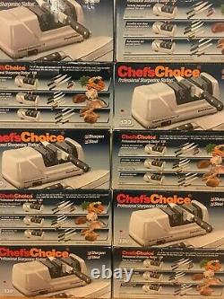 Chefs Choice 130 Professional Electric Knife Sharpening Station 130506 3 Slot