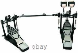 DP778TN GP Percussion Pro Quality Double Drum Pedal Kick Drum Pedal