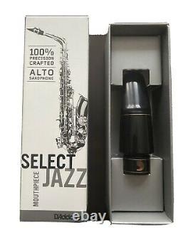 Daddario Select Jazz Alto Sax Mouthpiece D7M