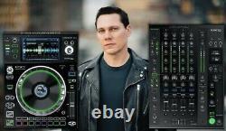 Denon DJ X1800 Prime Pro 4-Ch USB MIDI Digital Club Mixer with BPM Sweep Effects