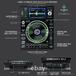 Denon SC5000 Prime Professional DJ Single Deck Media Players BOGO Promo Pair