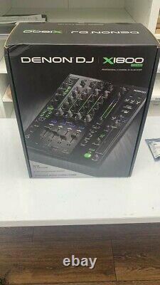 Denon X1800 Prime Professional 4-Channel DJ Mixer