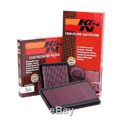 E-2657 K&N Air Filter For BMW 530D E39/E60/E61 3.0 Diesel 1998 2010