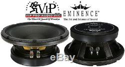 Eminence Kappa Pro-10A Hi-Quality 10 Mid-Bass Woofer 8-Ohm 1000W Speaker
