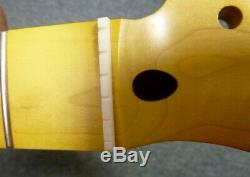 Fabulous pro quality 50's stye one piece chunky feel maple TL guitar neck, nitro