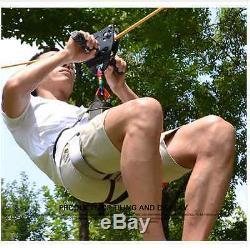 Flying Fox Zip Line Fast Light Quality Kids Fun Rock Climbing Trolley Pulley Pro
