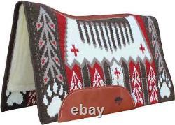 GOOD MEDICINE Professional's Choice BearPaw Cherry Contoured Western Saddle Pad