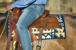 GOOD MEDICINE Professional's Choice Warbird Midnight Western Saddle Pad 33x38
