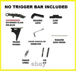 Glock Trigger Housing Parts Fits PF45 Lower (Choice of Connector) Upgraded