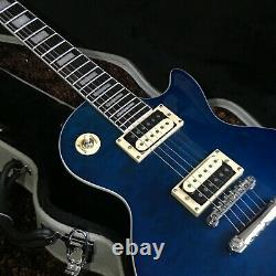 Guitar Factory Customized Electric Guitar High Quality Deep Blue Fast Delivery