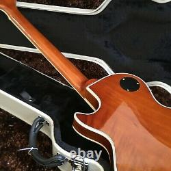 Guitar Factory Customized Electric Guitar High Quality Map Pattern Fast Delivery