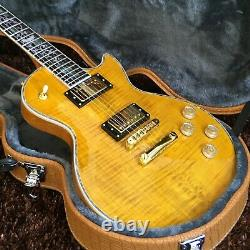 Guitar factory custom electric guitar high quality yellow Fast Delivery