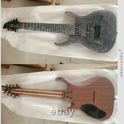 Handmade 8 Strings Electric Guitar High Quality Customized Guitar Shop Center