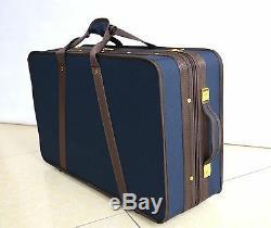 High Quality Pro Wooden Violin Case for 4 Piece Violins Blue Color 4.44KG