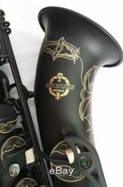 High-quality Japanese Bb Tenor Saxophone Matt Black Surface Professional Level