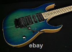 IBANEZ RG370AHMZ-BMT SOLID GUITAR PRO QUALITY Blue Moon Burst Quantum Pickups