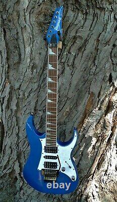 IBANEZ RG450DX-SLB SOLID BODY GUITAR PRO QUALITY Starlight Blue PEARL PICKGUARD