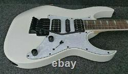 IBANEZ RG450DXB WH SOLID GUITAR PRO QUALITY WHITE Wizard 3 neck Quantum Pickups