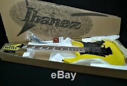 IBANEZ RG450EXB YE SOLID GUITAR PRO QUALITY Wizard 3 neck Quantum Pickups YELLOW