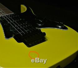 IBANEZ RG450EXB YE SOLID GUITAR PRO QUALITY Wizard 3 neck Quantum Pickups YELLOW