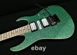 IBANEZ RG470MSP TSP SOLID GUITAR PRO QUALITY Quantum Pickups Turquoise Sparkle