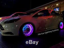 IP68 Pro 15.5Chasing Flow Series LED Wheel Rings Rim Lightx4pcs Set (Bluetooth)
