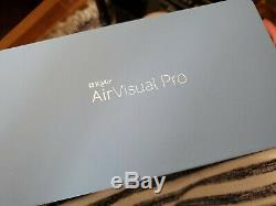 IQAir Air Visual Pro Air Quality Monitor