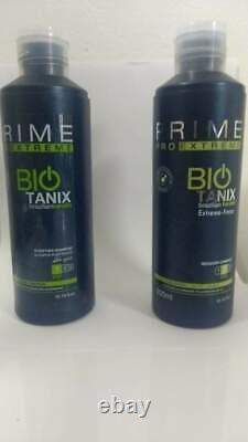 Kit Bio Tanix Extreme Hair Streight Treatment 2x300ml Prime Pro